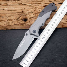 Folding Knife Strider Survival Knifes 440C Steel Blade Steel Handle Pocket Hunting Tactical Knives Camping Outdoor EDC Tools y60