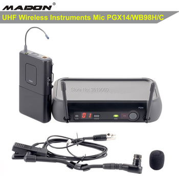 Free shipping ,PGX14/WB98HC ,PGX/BETA98HC UHF true diversity Instrument Wireless microphone system