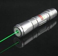Hoge Power Brandende Militaire 5000 mw 5 w 532nm Krachtige Groene Laser Pointer Lazer Focus Branden Wedstrijd/Pop Ballon Burn Sigaretten 3025