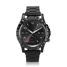 Bluetooth S2 Smart Uhr Smartwatch für IOS Android Smartphones mit Stahlband Hören Impuls-puls-moniter