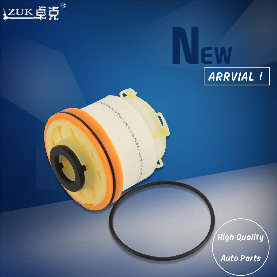 ZUK 10PCS Lot Fuel Filter Diesel Filter Element Kit For Toyota HILUX 2012 2015 KUN16 KUN26