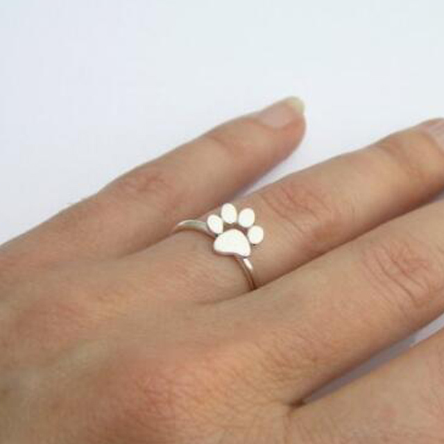 Paw Pattern Ring