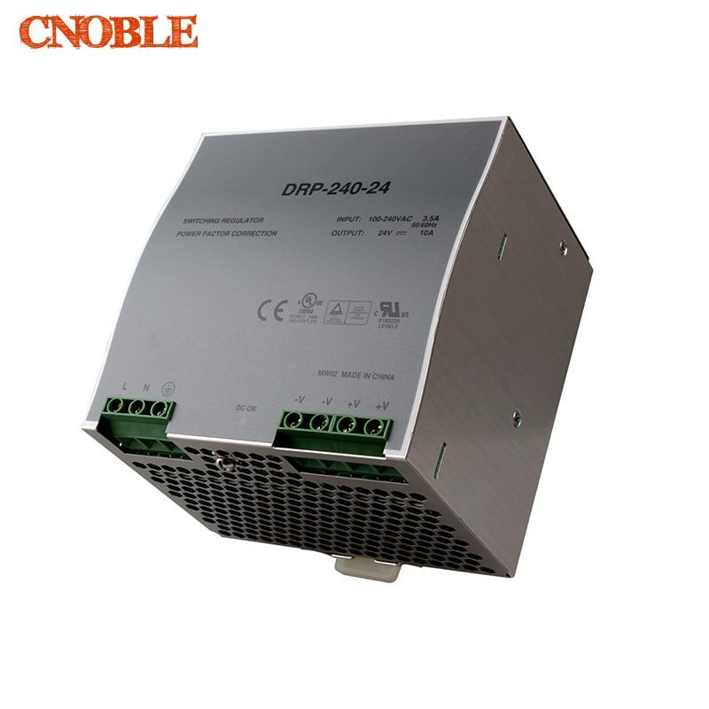 цена на Din rail power supply 240w 24V power suply 24v 240w ac dc converter dr-240-24 good quality