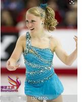 custom figure skating dress girls competition skating dresses hot sale free shipping clothing for ice skating
