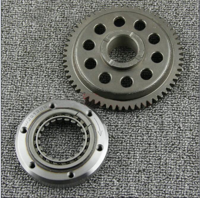 Free Shipping Motorcycle Overrunning Clutch Boot Disk is suitable for use with the Honda NX250 AX-1 rubing matching motorcycle accessories zy125 2 overrunning clutch