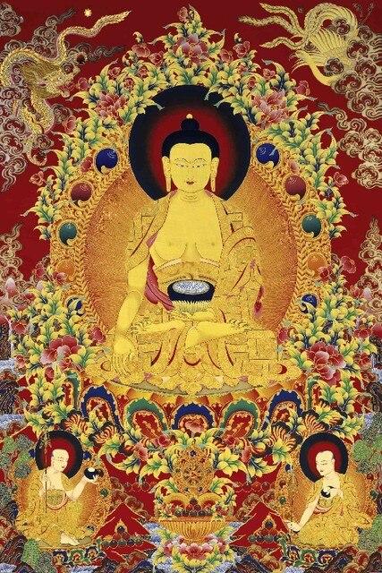 DIY marco los Budas carteles e impresiones decoración casera Telas ...