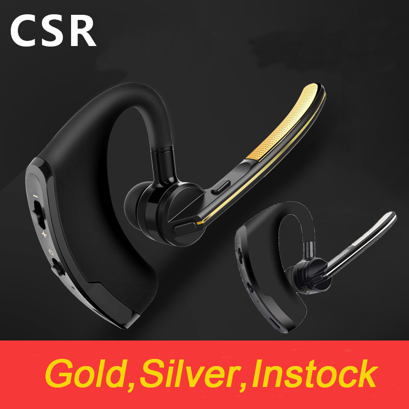 V8 Bluetooth V4.0 Business Stereo Bluetooth earphone Voice activated Wireless earphone Headset Car Driver Handsfree Earphone remax bluetooth v4 1 wireless stereo foldable handsfree music earphone for iphone 7 8 samsung galaxy rb 200hb