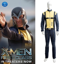 MANLUYUNXIAO New Men s X Men First Class Magneto Erik Lensherr Cosplay Costume Deluxe Outfit Halloween