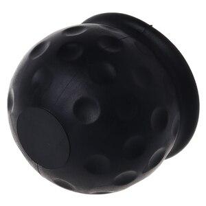 Image 3 - Universal 50mm Tow Bar Ball Abdeckung Kappe Abschleppen Hitch Cara