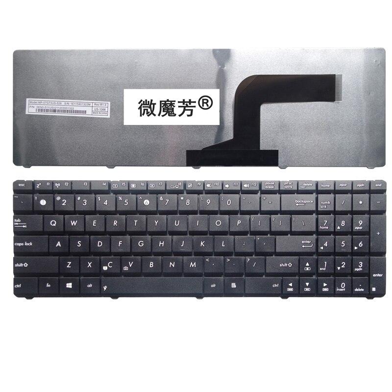 все цены на US For Asus K53 K53E X52 X52F X52J X52JR X55 X55A X55C X55U K73 K73B K73E K73S X61 NJ2 Replace laptop keyboard Black New English