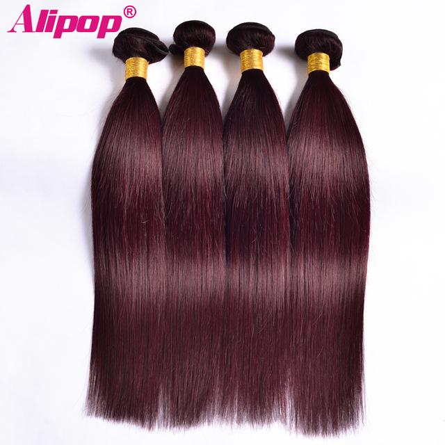 Cool Aliexpress Com Buy Alipop Burgundy Peruvian Straight Hair Short Hairstyles For Black Women Fulllsitofus
