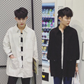 New fashion casual coat men jacket men small fresh art solid jacket outwear coat W855