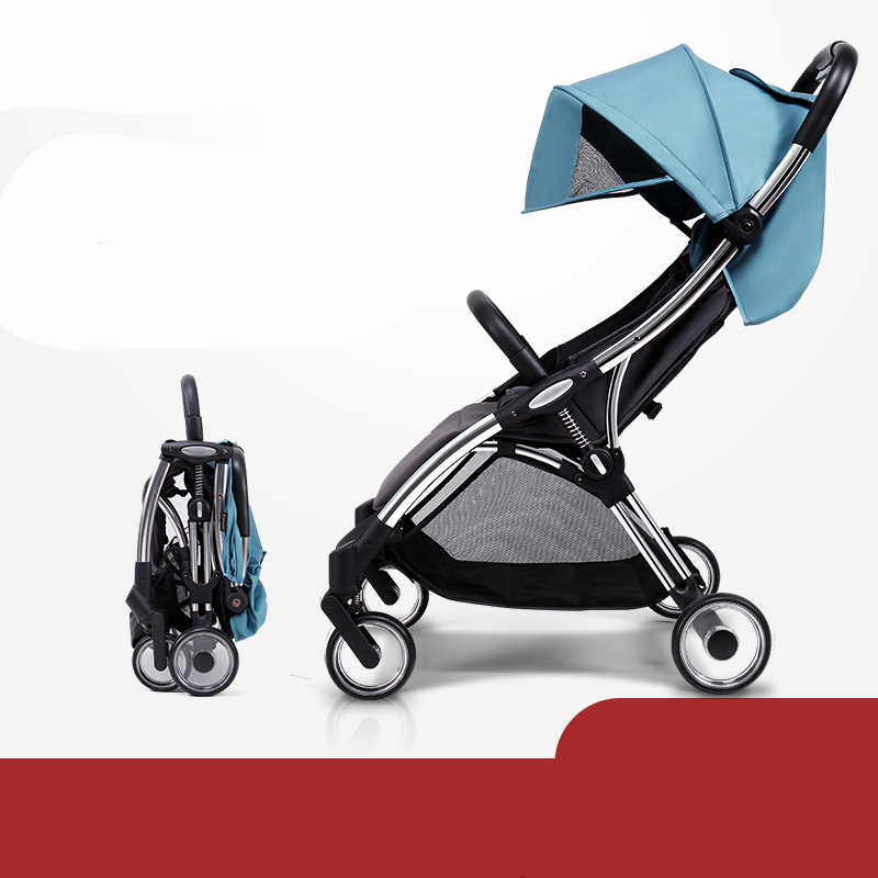 Baby light stroller can be used for reclining, ultra-light and easy to fold 6.2kg can be on the planeBaby light stroller can be used for reclining, ultra-light and easy to fold 6.2kg can be on the plane