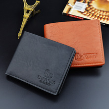 Men Wallets Fashion Mens Wallet with Coin Bag Zipper Small Money Purses Dollar Slim Purse Money Clip Wallet Buckle wholesale 379
