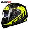 LS2 Helmet FF396 Motorcycle Helmet Carbon Fiber Material ECE Certification Full Face Motorcycle Helmet 100 Original
