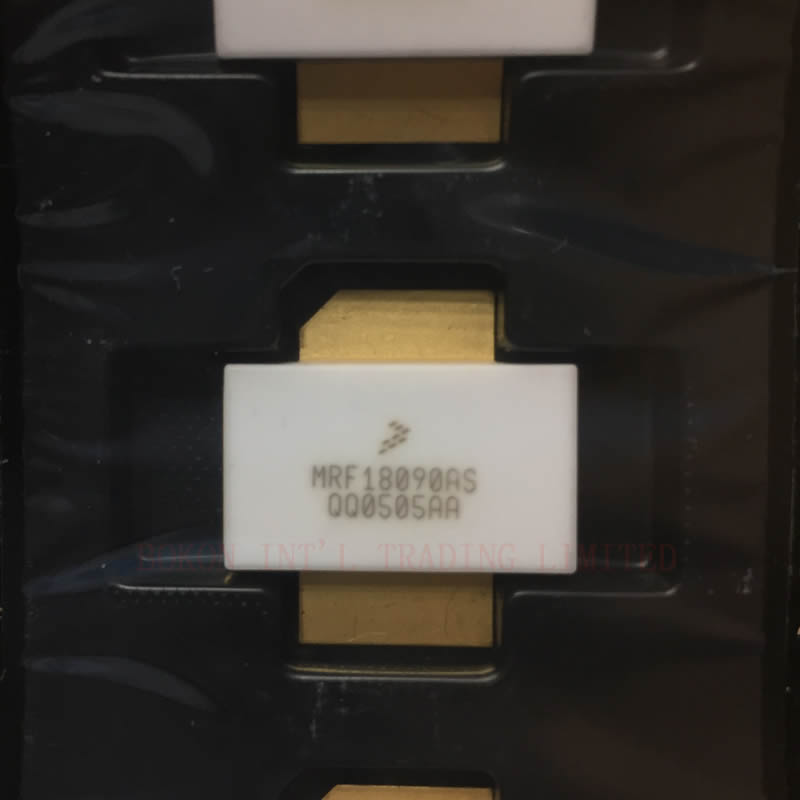 MRF18090AS RF Power Field Effect Transistors 1.80-1.88GHz 90W 26V LATERAL N-CHANNEL RF POWER MOSFETS MRF18090ASR3 MRF18090