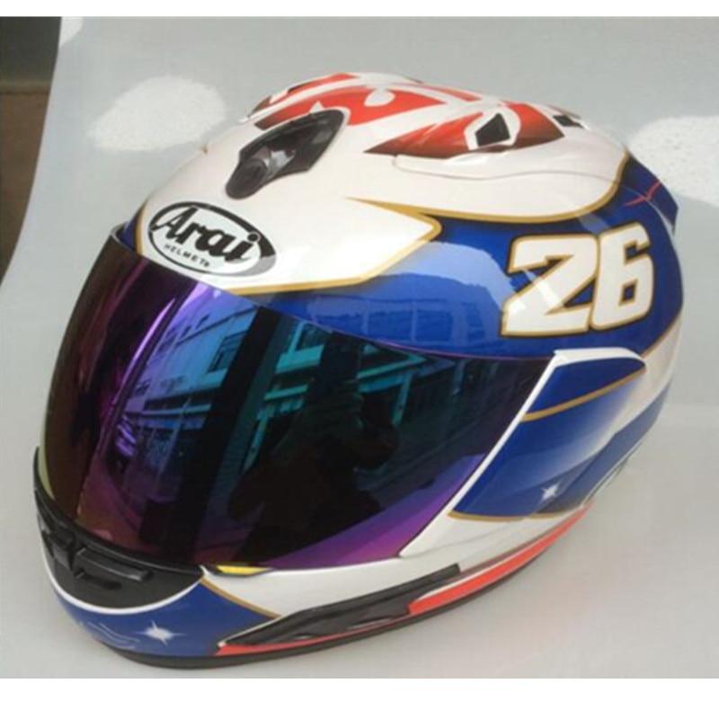 ARAI RX-7 casque de moto RX-7 EU/CORSAIR-X US IOM TT casque de course moto intégral Isle, Capacete