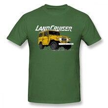 0fbb622cf6999 Hot Sale Toyota FJ40 Land Cruiser T Shirt Vintage Large Car Design T-shirt  For