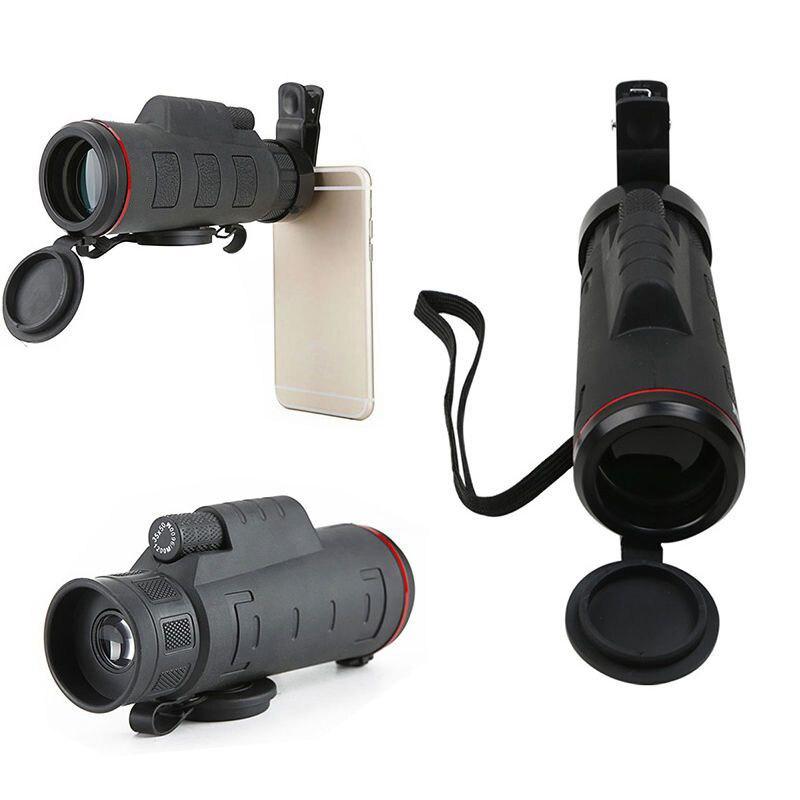 bilder für Mayitr Clip-on 35X50 HD Optischer Zoom Teleskop Telekamera Objektiv Universal Für iphone 6 7 Plus Samsung S6 S7 Mobile telefon