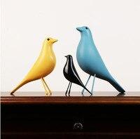 Original European resin bird home interior Decorations office arts wedding christmas gift dove peace statue house Mascots