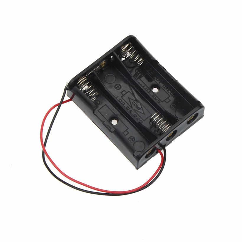 Tamaño AA batería de almacenamiento caja de soporte con 1 2 3 4 ranuras drop shipping 0616