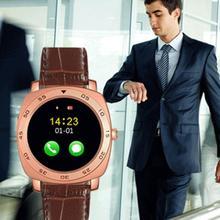 """Neueste No. 1 HOT 1,22 """"Zoll Runden Bildschirm BT3.0 Smartwatch Schlaf-tracker Pedometer Für Android iPhone"""