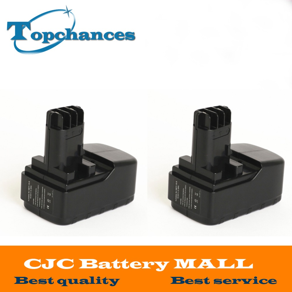 2PCS High Quality 15 6V 3300mAh NI MH replacement font b power b font font b