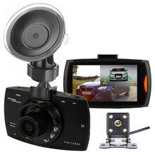Новинка 2017 года оригинальный два объектива Видеорегистраторы для автомобилей Двойной Камера G30 1080 P видео Регистраторы с заднего вида Камера s петли Запись видеокамера Blackbox