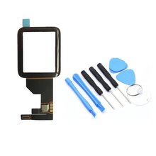купить 38/42mm Touch Screen Replacement Digitizer Glass Panel Sapphire Panel Front Touch Screen Digitizer For Apple Watch онлайн