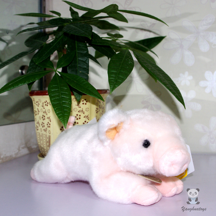 Plush Stuffed Animal Toy Cute Pink Pig Doll Toys Children Gifts Wrist pillow