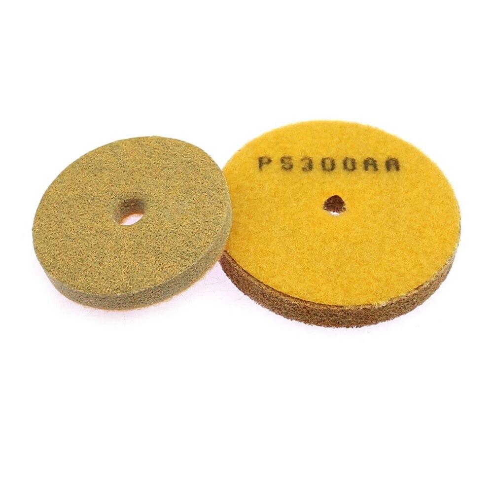 1 Piece Stone Sponge Fiber Flexible Grinding Disc Marble Buff Polishing Pad