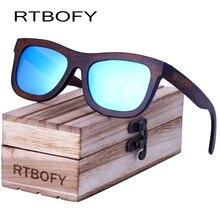 Rtbofy 2017 Direct Selling Adult Wooden Square Polaroid Rtbofy Wood Sunglasses New Vintage Sun Glasses Polarized The Box Men