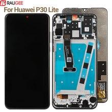 עבור Huawei P30 לייט LCD תצוגה + מגע מסך 100% חדש Digitizer מסך זכוכית פנל החלפה עבור Huawei P30 P 30 לייט תצוגה