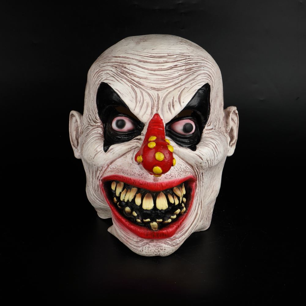 Latex Mask Carnival Costume Accessory Joker Novelty Halloween Party Head Mask  Fancy Dress Party Cosplay Mask (15)
