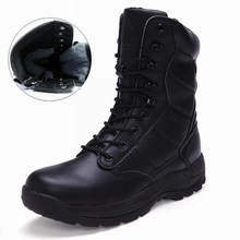 Men Boots Winter With Fur 2017 Warm Snow Boots Men Outdoor Boot Work Shoes Men Footwear Fashion Male Rubber Ankle Boots