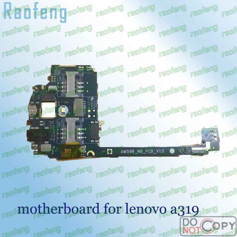 Raofeng  High quality motherboard For lenovo a319  Unlocked disassembled  Mainboard test one by one  well worked before ship(China)
