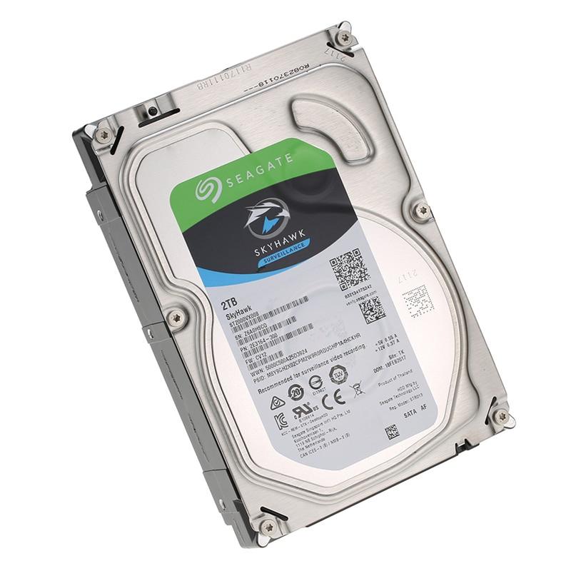 Seagate 2 to SATA 3.5 pouces 5900 tr/min 6 Gb/s 64 mo Cache HDD Surveillance vidéo disque dur interne disque dur pour la sécurité ST2000VX008