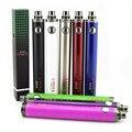 Actualización de la batería II 1600 mah giro Evod cigarrillo electrónico evod batería cigarrillo electrónico de voltaje variable 3.3 v-4.8 v VS evod batería