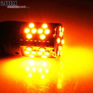 Image 5 - iJDM Canbus Error Free 7440 LED No Hyper Flash 21W Amber yellow W21W T20 LED Replacement Bulbs For Car Turn Signal Lights,12v