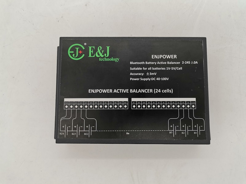 12S 24S Battery Balancer 2A Current With Bluetooth APP For 36V 48V Winston LiFepo4 Yinlong LTO