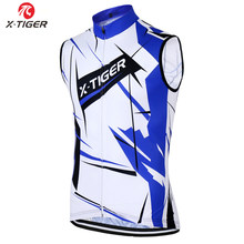 X-Tiger Pro Cycling Jerseys Vest Summer MTB Bicycle Jerseys Clothing Maillot Ciclismo Sleeveless Bike Clothes Sportwear(China)
