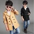 Куртка англия дети пальто для мальчиков-подростков моды 2015 осень зима новые поступления ребенка верхняя одежда ветровка дети