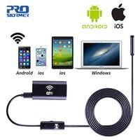 PROSTORMER 1080x720 P цифровой WiFi эндоскоп бороскоп змея Инспекционная камера мягкий провод для Windows системы Android и ios 2