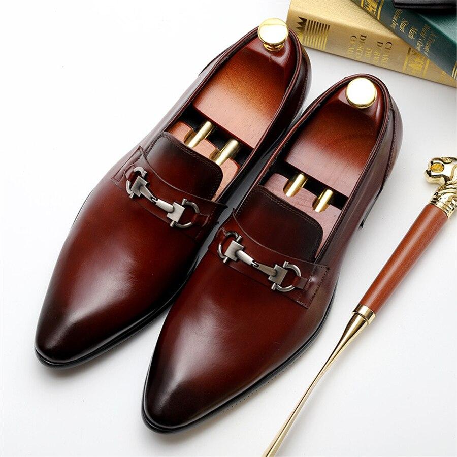 100% حقيقية جلد البقر البروغ حذاء أيرلندي أحذية رجالي عارضة الشقق أحذية خمر اليدوية حذاء أكسفورد للرجال الربيع الأسود الأحمر-في أحذية رسمية من أحذية على  مجموعة 1