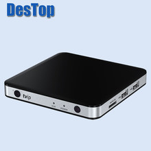 Venta al por mayor TVIP V.605 4K ULTRA decodificador linux y android iptv box 5 unids/lote(China)
