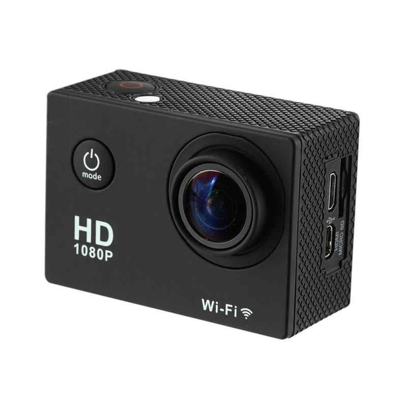 For HAMTOD HKJ400 2.0 Inch LCD Screen HD 1080P WiFi Motion Camera With Waterproof Case