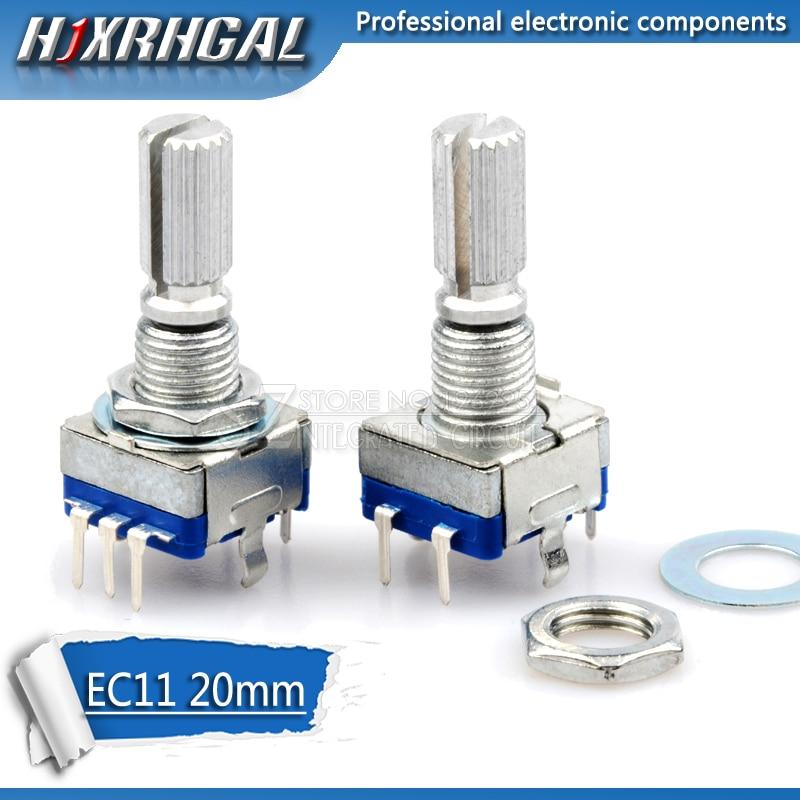 5 pièces poignée prune 20mm encodeur rotatif codage interrupteur/EC11/potentiomètre numérique avec interrupteur 5 broches hjxrhgal