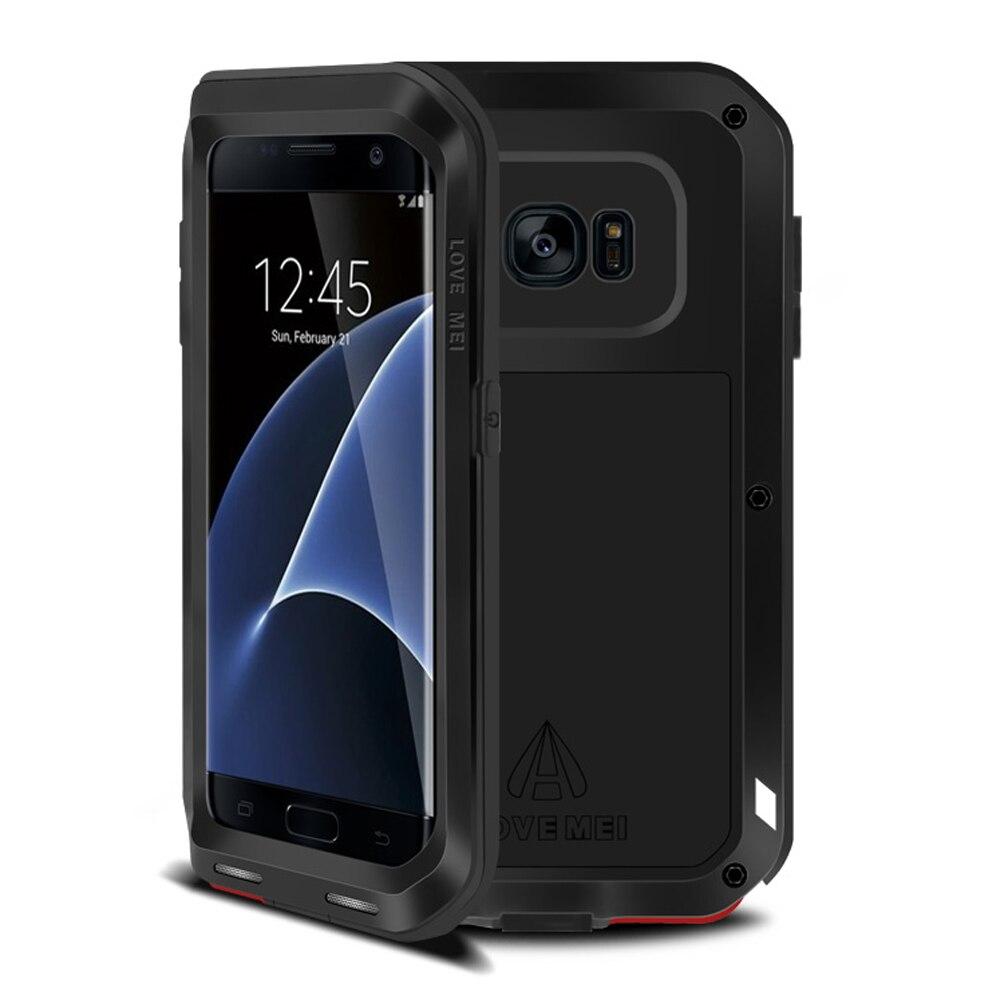 imágenes para Para Samsung Galaxy Caso de Aluminio A Prueba de Golpes de Metal S7 S7 borde borde cubierta Armor For Samsung S7 borde Caso S7edge G935F G935V G935