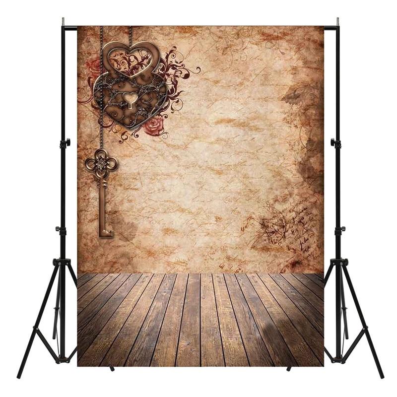 210X150cm Vintage Vinyl Studio Photo Backdrop Wooden Floor Photography Background Cloth Photo Booth Prop Party Events Favor