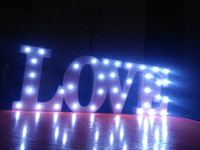 New Arrival,Wooden LED Letter Lights sign alphabet night lights wedding birthday party decoration home supplies Christmas gift.